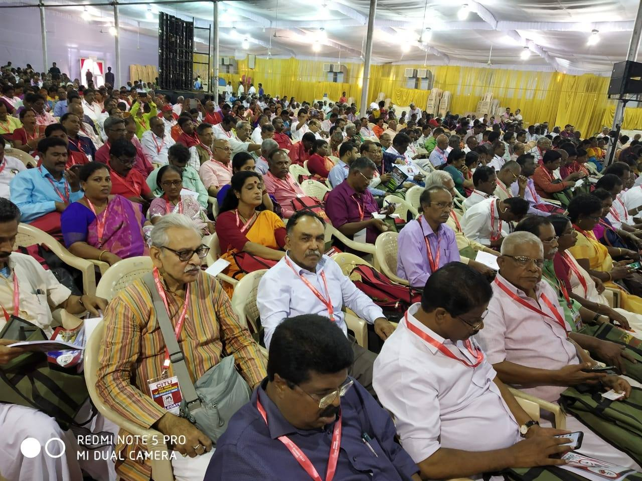 <p>A delegation to CITU ALL INDIA Conference #Chennai</p>