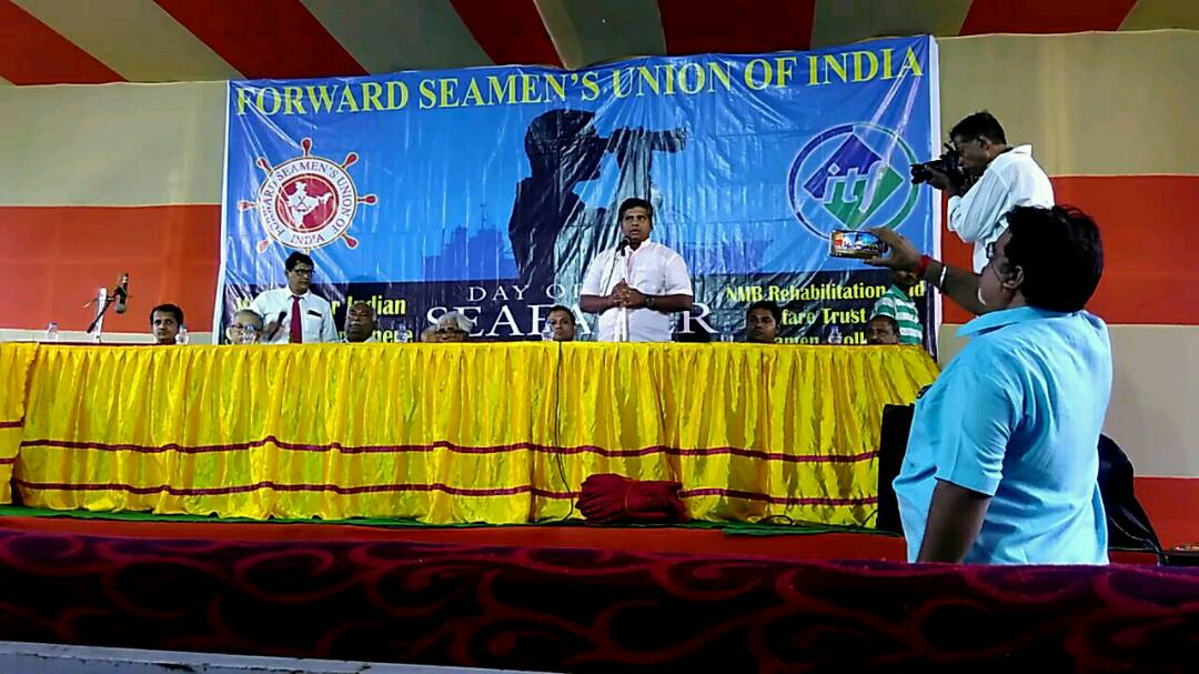 <p>International Seafarers Day celebration at kolkata on 25th June 2017 in presence of Shipping fraternity, Senior Leader and Seafarers. </p>